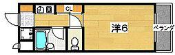 ラフィーネ枚方[3階]の間取り