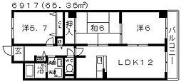 メゾンファミィユ[305号室号室]の間取り