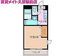 Msグラフィカ[2階]の間取り