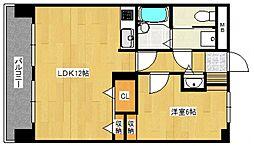 ライオンズマンション久留米プラザ2[303号室号室]の間取り