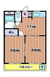 丸正ビル[3階]の間取り