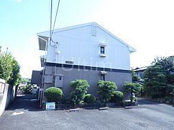 京都府京都市北区西賀茂川上町の賃貸アパートの外観