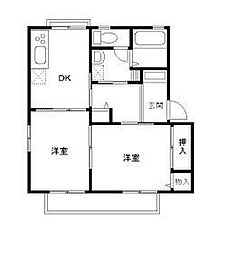 サンモールS&E D棟[1階]の間取り