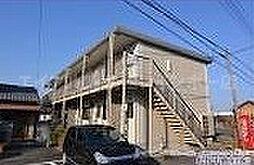 香川県高松市西ハゼ町の賃貸アパートの外観