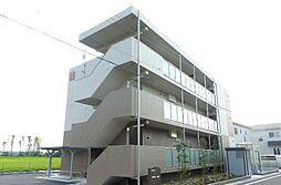 滋賀県野洲市行畑の賃貸マンションの外観