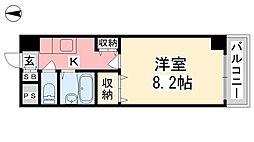 ジョイフル第5中村[305号室]の間取り