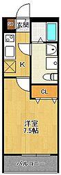 LOTUS Tsukaguchi 2[1階]の間取り