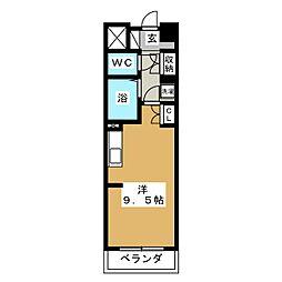 グランカーサ仙台五橋[2階]の間取り