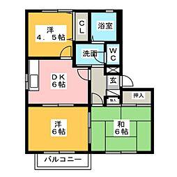 フォーレス大塚[2階]の間取り
