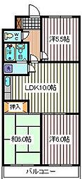 マノア浦和[2階]の間取り