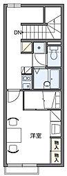 レオパレスK2[2階]の間取り