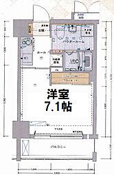 エスライズ大阪ベイサイドアリーナ[7階]の間取り