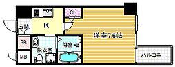HS梅田EAST[12階]の間取り