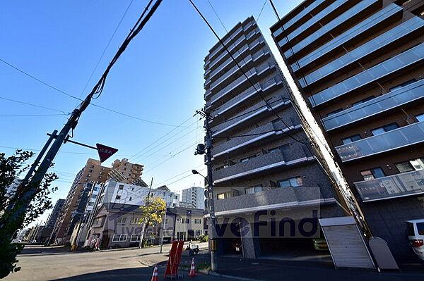 北海道札幌市豊平区豊平二条1丁目の賃貸マンションの外観