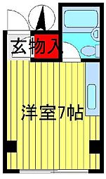 メゾン松本[103号室]の間取り