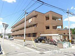 愛知県岡崎市大和町字川原の賃貸マンションの外観