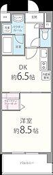 エスペーロ神田[402号室]の間取り