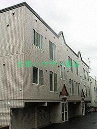 北海道札幌市東区北十四条東16丁目の賃貸アパートの外観
