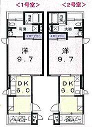 ラ・セラ・ヴィ[3階]の間取り