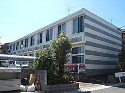 京都府宇治市宇治矢落の賃貸アパートの外観