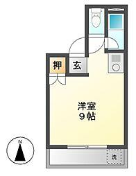 丸山ビル[2階]の間取り