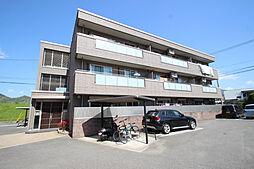 広島県広島市安佐南区中筋1丁目の賃貸アパートの外観