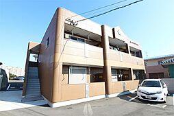 福岡県遠賀郡水巻町猪熊8丁目の賃貸アパートの外観