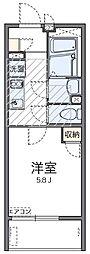 神奈川県横浜市南区別所4丁目の賃貸マンションの間取り