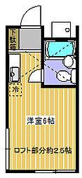 グリーンハウス千代田[201号室]の間取り