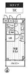 新築 レクシード武蔵関駅前[103号室号室]の間取り