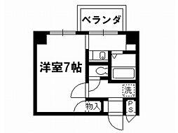 リーガル京都御所西[6階]の間取り