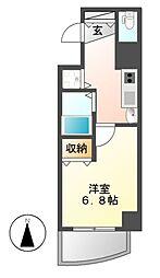 プレサンス覚王山D−StyleII[7階]の間取り
