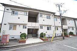 大阪府茨木市郡山2丁目の賃貸アパートの外観