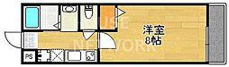 セントポーリア円町[208号室号室]の間取り
