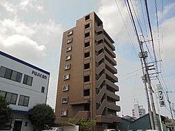 愛媛県松山市日の出町の賃貸マンションの外観