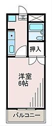 サンクレスト寺台[2階]の間取り
