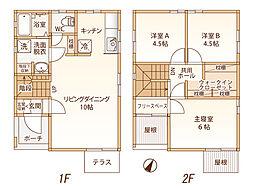 [一戸建] 長野県長野市安茂里小市2丁目 の賃貸【/】の間取り