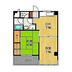 田代ビル[3階]の間取り