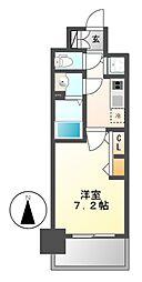 プレサンス名古屋グロウ[7階]の間取り