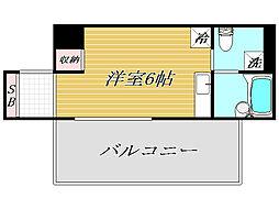 コンポジット東十条[5階]の間取り