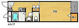 レオパレス住吉参番館[2階]の間取り