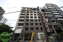 大阪府東大阪市足代北2丁目の賃貸マンションの外観