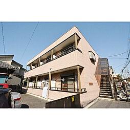 埼玉県川越市南通町の賃貸アパートの外観