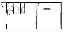 北海道札幌市豊平区平岸四条8丁目の賃貸アパートの間取り
