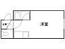 間取り,ワンルーム,面積23.46m2,賃料2.4万円,札幌市営南北線 平岸駅 徒歩4分,札幌市営東豊線 豊平公園駅 徒歩10分,北海道札幌市豊平区平岸四条7丁目10番6号