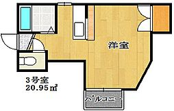 オネスティ東船橋[1階]の間取り