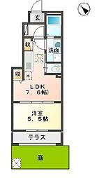 (仮名)園部町小山東新築アパート[101号室号室]の間取り