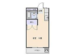 大野マンション[306号室号室]の間取り