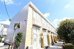 東京都府中市白糸台1丁目の賃貸マンションの外観