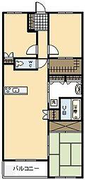 サーパス宮崎駅前[15号室]の間取り
